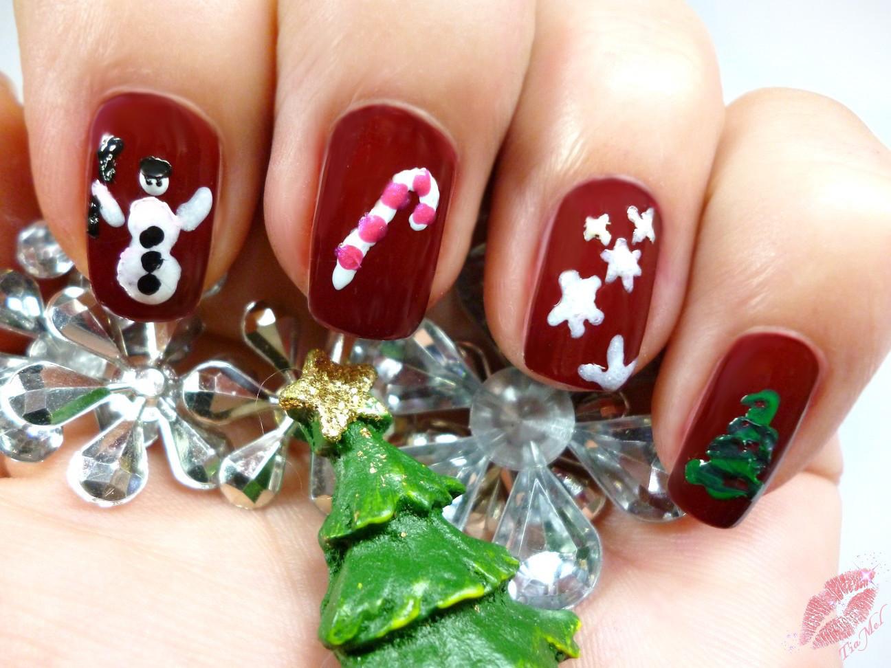 Nails] essence - do you speak love?   Christmas-Nails und ein ...