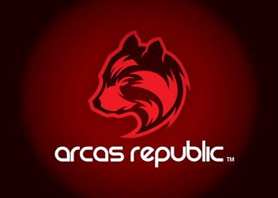 arcas republic logo design