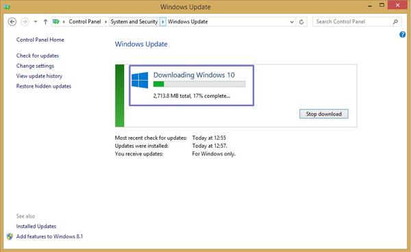 كيفية الحصول على Windows 10 وتجنب قائمة الانتظار!