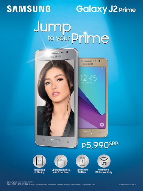 Samsung Galaxy J2 Prime Launched, Lets You Experience Premium for Less