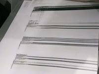Mengatasi hasil fotocopy bergaris hitam canon ir.