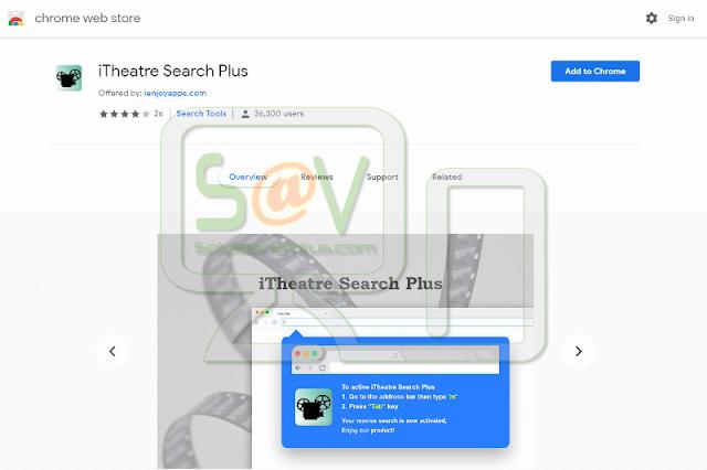 iTheatre Search Plus (Hijacker)