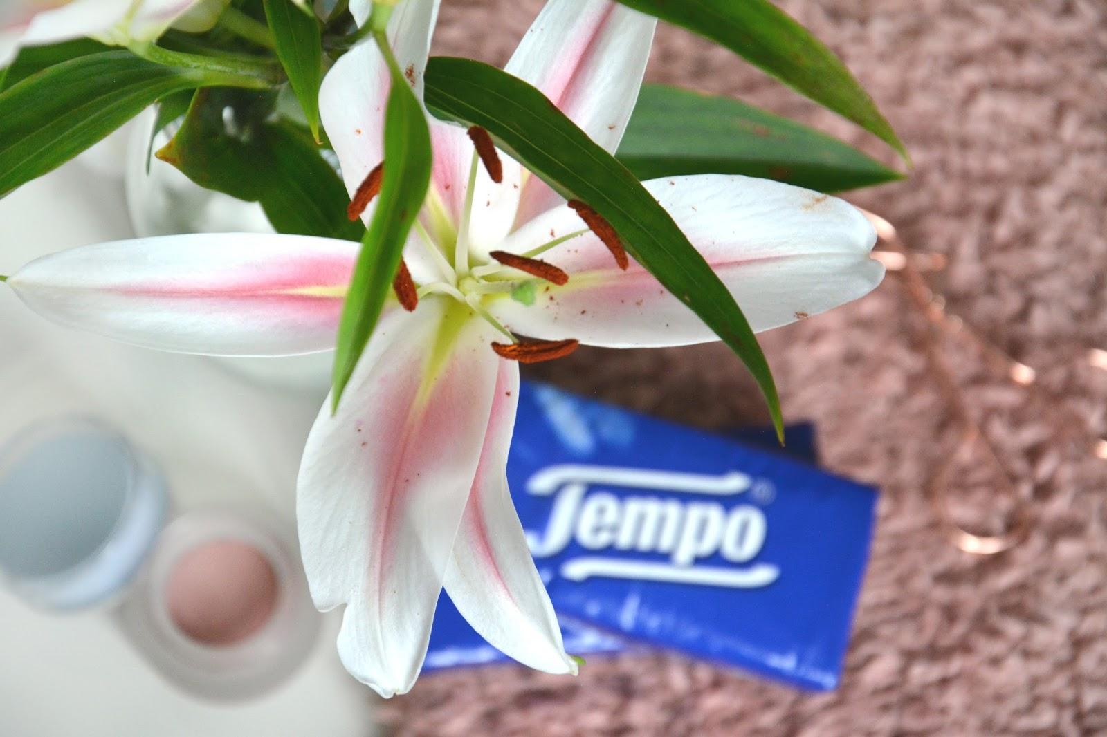 Fresh Lilies; Tempo; Kiko Less Is Better Cream Blush
