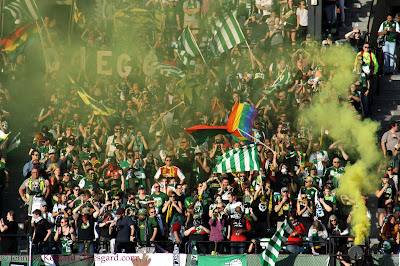 timbers army, north end, section 107, TA,