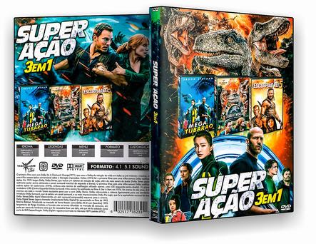 CAPA DVD – Super Ação 3×1 – ISO
