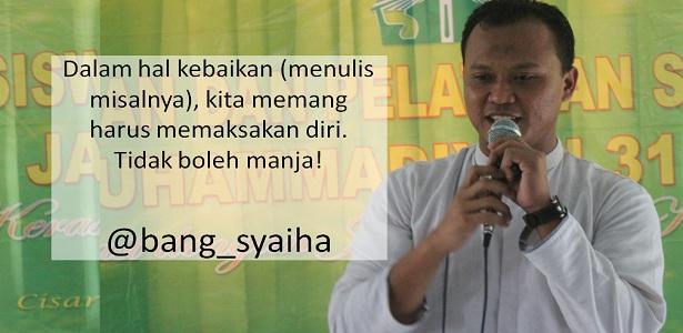 Mengapa namanya polisi tidur, Bang Syaiha, penderita polio, http://bang-syaiha.blogspot.co.id/