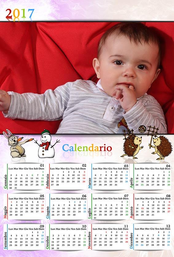 Calendario Bimbi.Risorse Per Photoshop Anteprima Calendari 2017