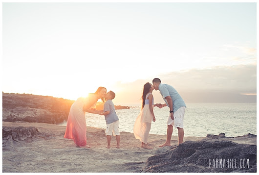 Family, Fun, & A Fortieth Celebration - The Phan Family's Maui Portraits