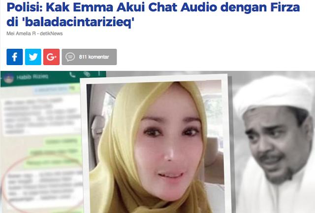 Kasus Chat, Umi Ema atau Detik yang bohong?