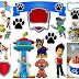 Paw Patrol Birthday Party: Free Printable Cake Toppers.