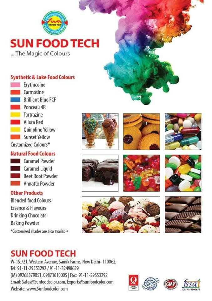Food Colors Manufacturers in Australia