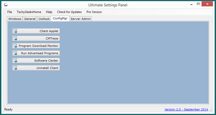 Ultimate Settings Panel version 2.0 Released 4