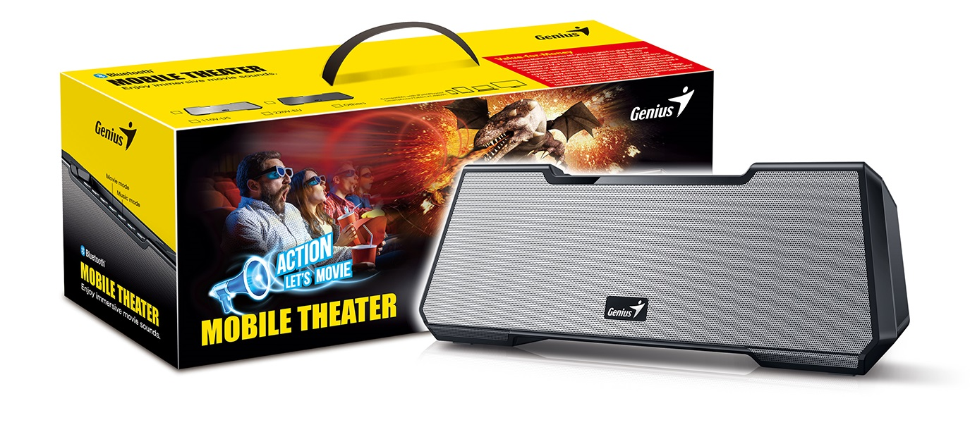 Genius MT-20 Mobile Theater Speaker