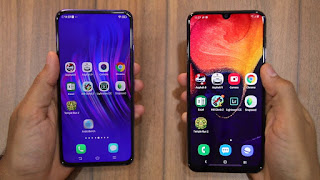 Samsung Galaxy A50 vs Vivo V15 Pro! Mending Mana??
