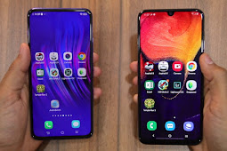Samsung Galaxy A50 vs Vivo V15 Pro! Mending Mana??