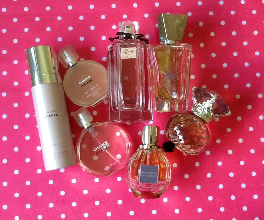 I M A Fan Of Fragrances These Are My Cur Favs Chanel Chance Body Mist Eau Fraîche Hair Tendre Fl By Gucci Gorgeous Gardenia