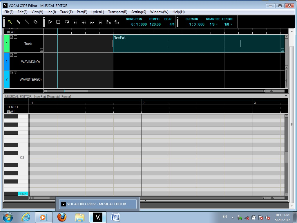 DFGA - Cyan-Co: Vocaloid 3, voice Synthesizer
