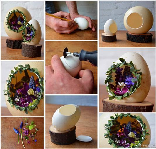 16 Ide Kreatif Kerajinan Cangkang Telur  1cca5f5903