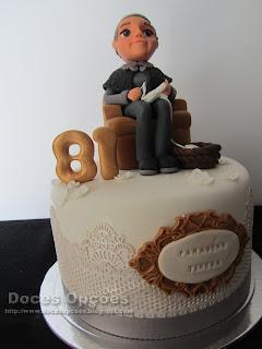 bolo com renda comestivel bragança