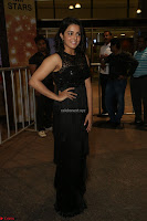 Wamiqa Gabbi in a sleeveless Black Designer Transparent Gown at 64th Jio Filmfare Awards South ~  Exclusive 096.JPG