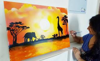 Spray Painting Work