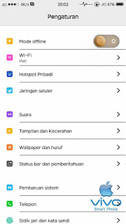 Tema Vivo V5 JetBlack Not Compair Keren