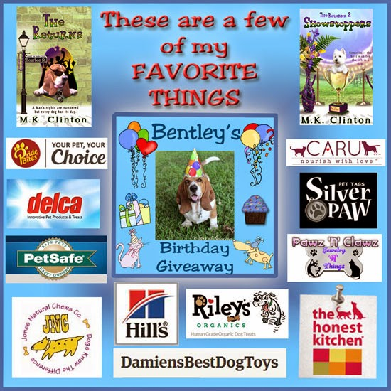 Bentley's birthday giveaway promo
