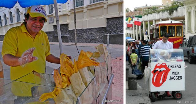 Petiscos típicos da Colômbia: patacones e obleas
