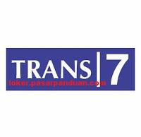 lowongan kerja seluruh Indonesia PT. Duta Visual Nusantara Tivi Tujuh (Trans7) Februari 2019
