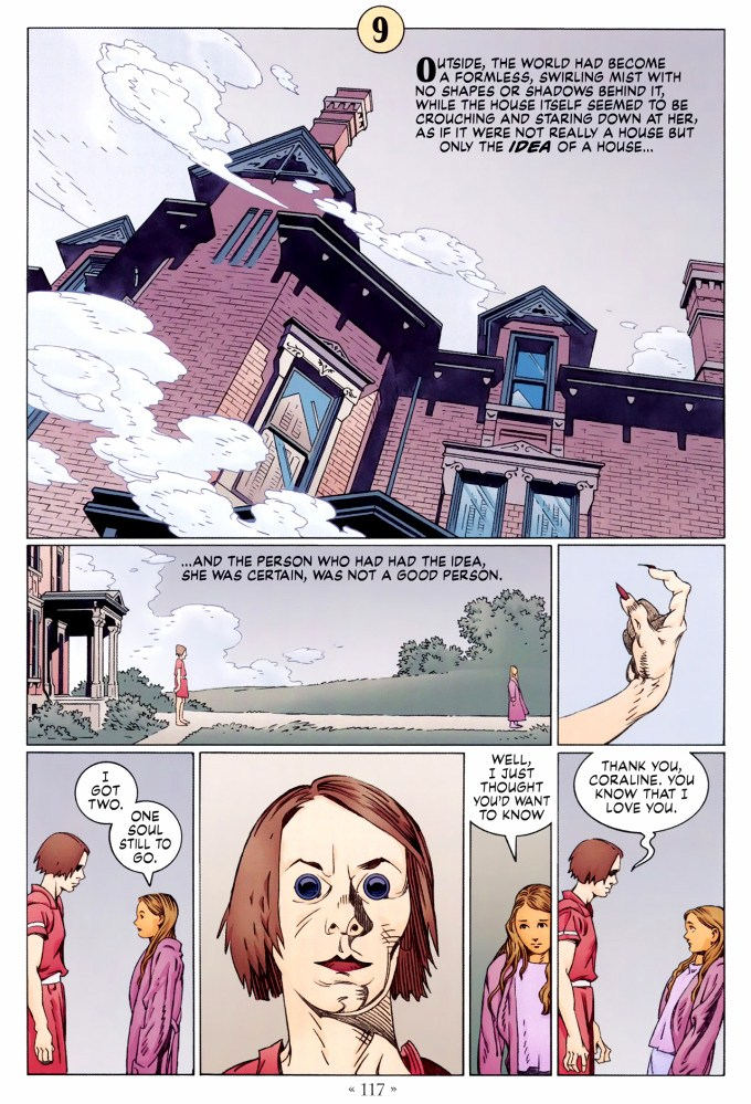 Read page 117, from Nail Gaiman and P. Craig Russell's Coraline graphic novel