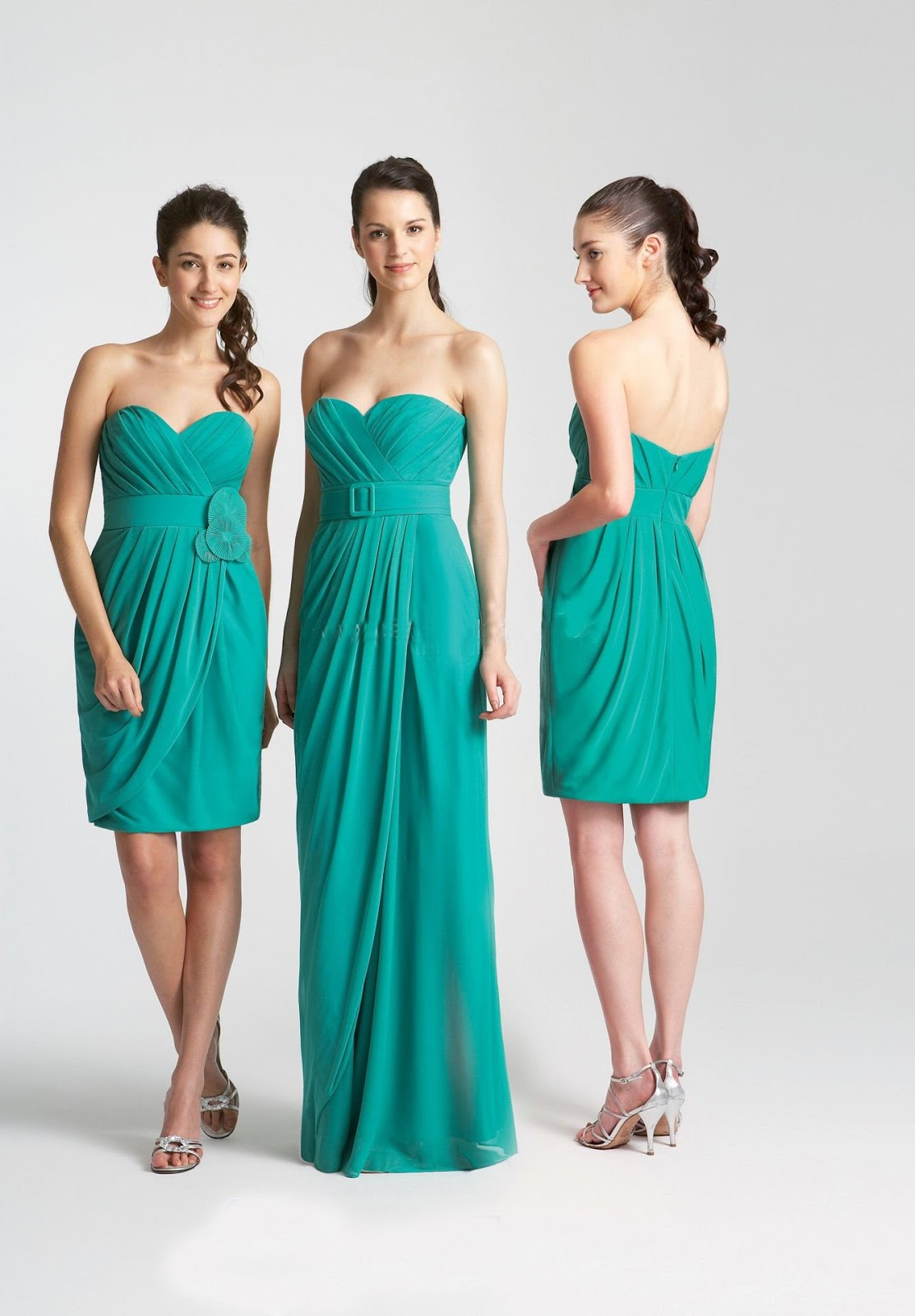 WhiteAzalea Bridesmaid Dresses: Fresh Green Bridesmaid Dress