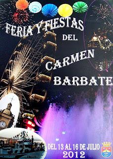 Barbate - Cartel de la Feria del Carmen 2012 - Miguel Perea Franco