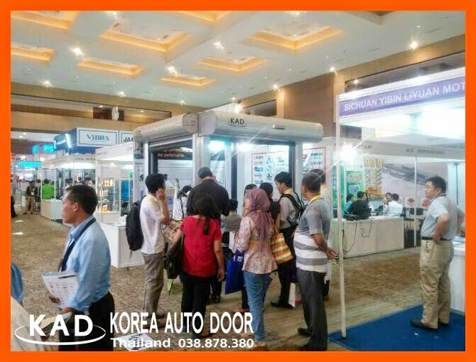 kad high speed door participated allpack indonesia expo