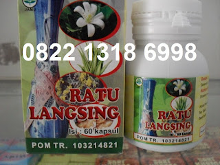 Obat Pelangsing Tubuh Herbal RATU LANGSING Alami Tradisional
