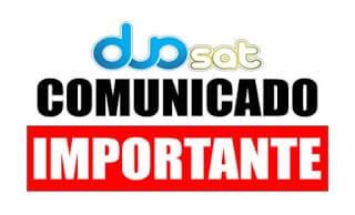 COMUNICADO DUOSAT SOBRE ON DEMAND - 20/01/2020