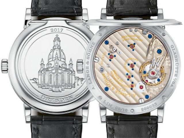 Réplicas De Relojes A. Lange & Söhne 1815 Dresden Boutique Vigésima edición del aniversario