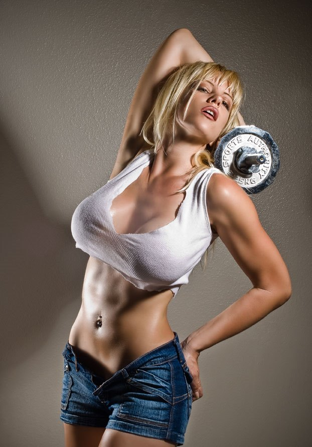 Beauty Babes Gym Inspiration Hot Sexy Women In The Gym -7188