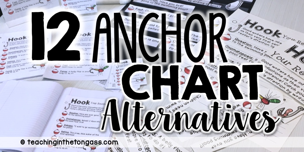 Anchor Chart Alternatives - Teaching in the Tongass - anchor charts