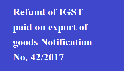 refund export and central excise