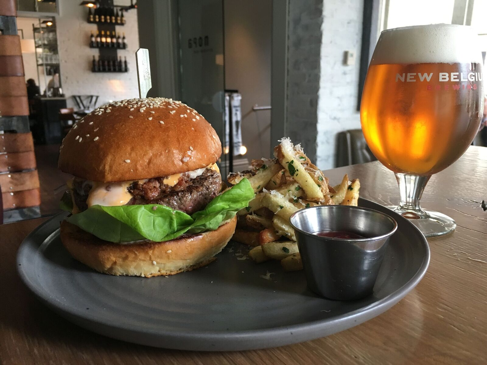 celebrate national burger month with nopa kitchen bar dc outlook