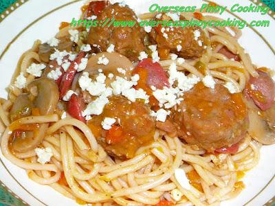 Spaghetti Longganissa