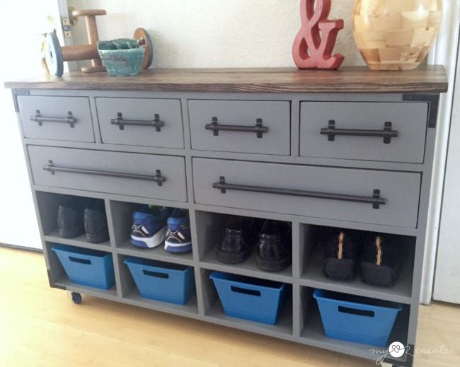 Shoe Cubby Dresser, MyLove2Create