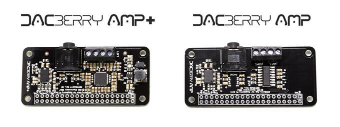 DACBerry AMP/+ Analog Soundcard & Amplifier for Raspberry Pi