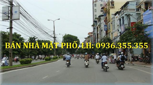 Bán nhà mặt phố Kim Mã - Ba Đình
