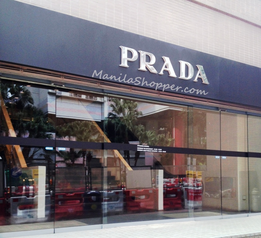 55beebff820 Manila Shopper  Prada Outlet Store at Space Outlet Marina Square ...