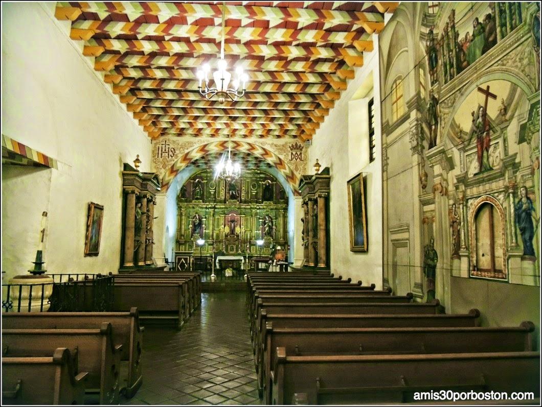 Retablo y los Altares Laterales de la Misión Dolores, San Francisco