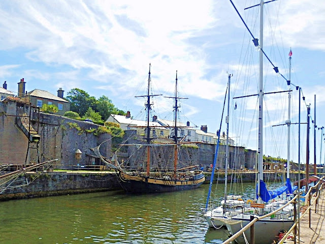 Charlestown, Cornwall, Port and Sailing Ships