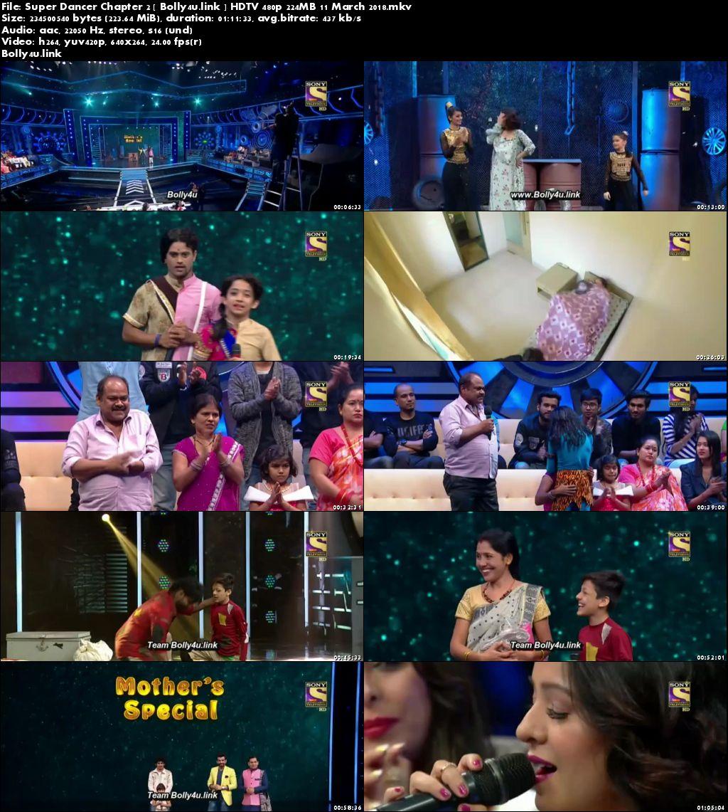 Super Dancer Chapter 2 HDTV 480p 200MB 11 March 2018 Download