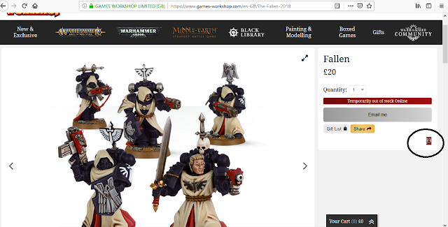 Sneaky and Almost Gone without Anyone Noticing- The Fallen: Last Chance to Buy