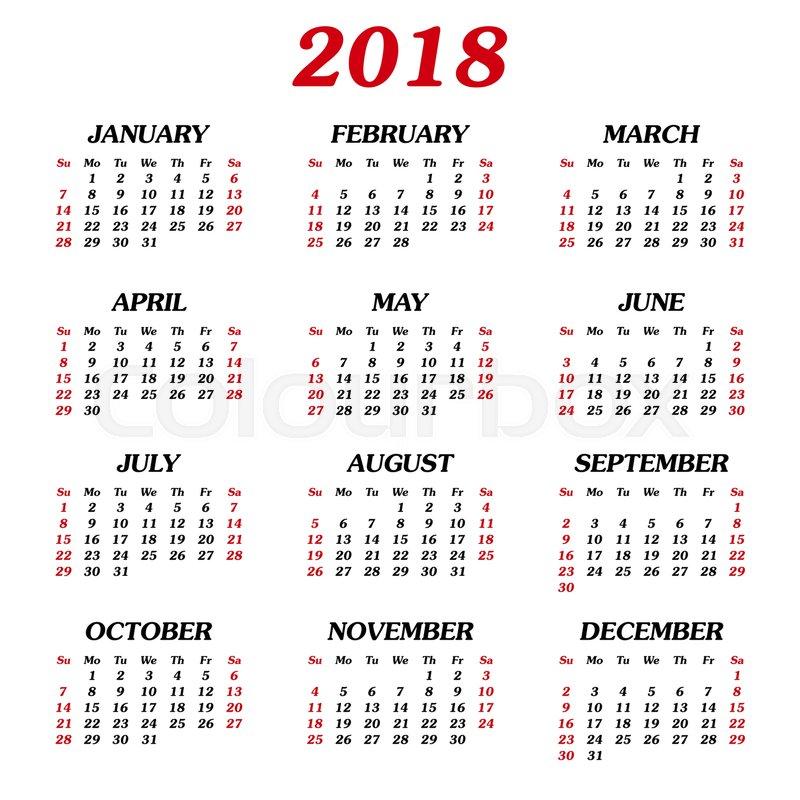 Popular Chand Raat Eid Al-Fitr 2018 - annual-calendar-2018  Snapshot_283488 .jpg